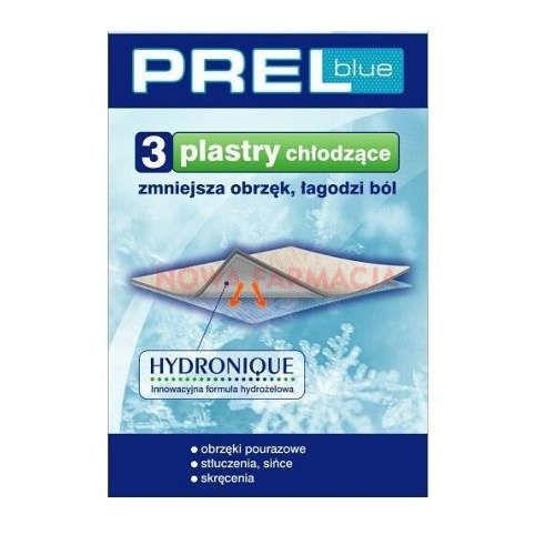 PREL blue plaster chłodzący