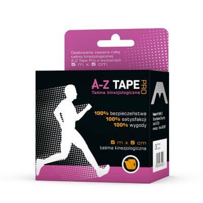 Taśmy kinezjologiczne A-Z Tape