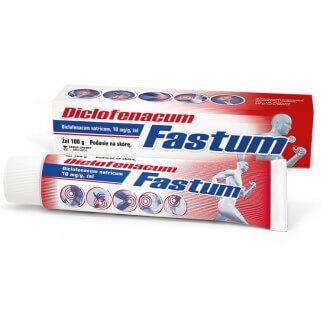 żel na ból Diclofenacum Fastum