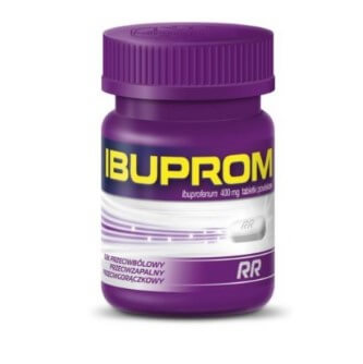 Tabletki przeciwbólowe firmy Ibuprom