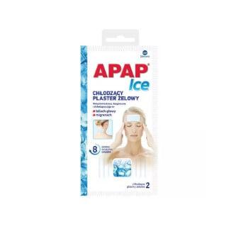 plastry na bolącą głowę Apap Ice