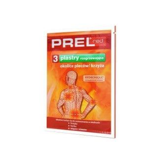 PREL red plaster
