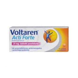 Tabletki powlekane Voltaren Acti Forte